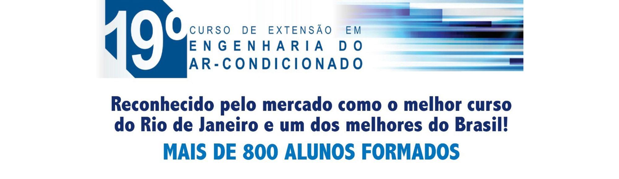 19º CURSO DE EXTENSÃO EM ENGENHARIA DO AR-CONDICIONADO